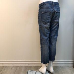 Current/Elliott boyfriend ankle blue jeans